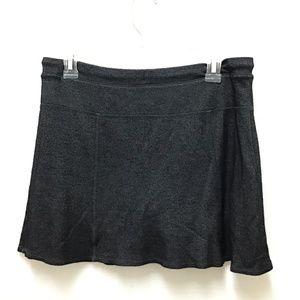 Green Tea Shorts - Green Tea Black Athletic Skort, M